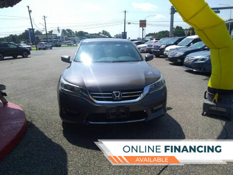 2015 Honda Accord for sale at Marino's Auto Sales in Laurel DE
