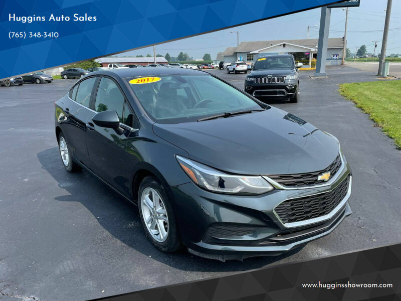 2017 Chevrolet Cruze for sale at Huggins Auto Sales in Hartford City IN