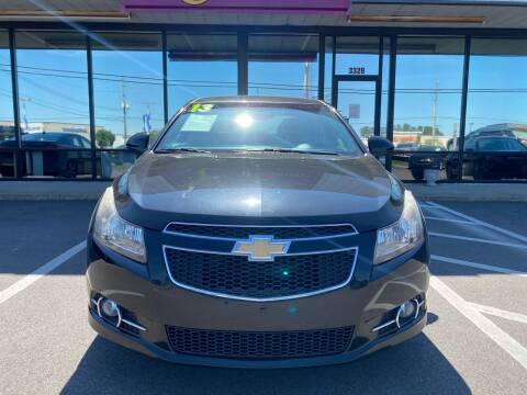 2013 Chevrolet Cruze for sale at East Carolina Auto Exchange in Greenville NC