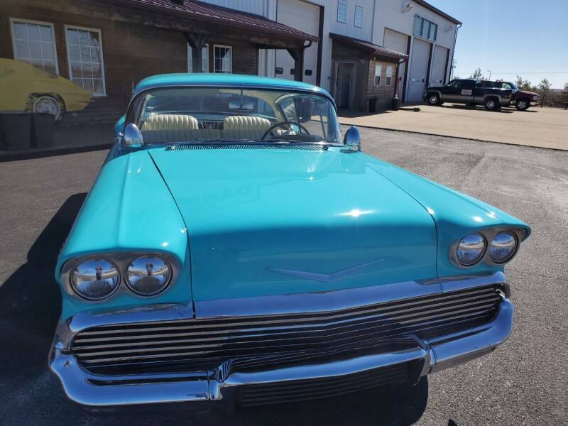 1958 Chevrolet Impala for sale at Gary Miller's Classic Auto in El Paso IL