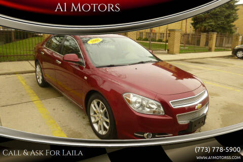 2008 Chevrolet Malibu for sale at A1 Motors Inc in Chicago IL