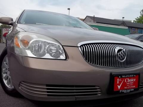 2007 Buick Lucerne for sale at 1st Choice Auto Sales in Fairfax VA