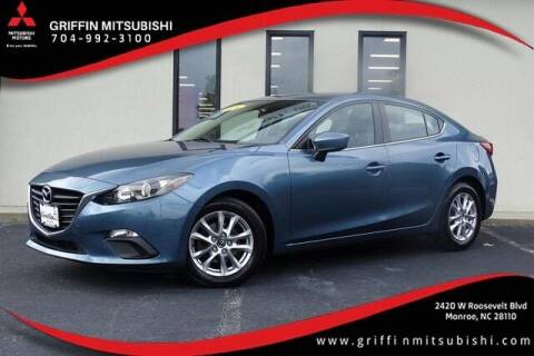 2014 Mazda MAZDA3 for sale at Griffin Mitsubishi in Monroe NC