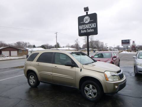 2005 Chevrolet Equinox for sale at Wisneski Auto Sales, Inc. in Green Bay WI