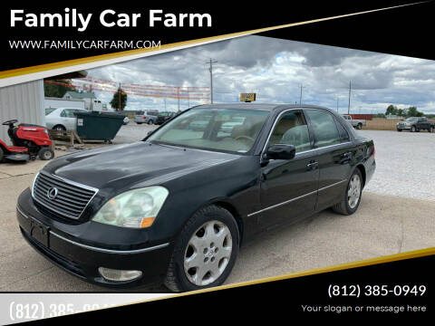 2003 Lexus LS 430 for sale at Family Car Farm in Princeton IN