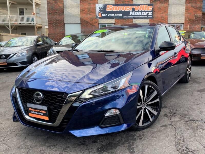 2020 Nissan Altima for sale at Somerville Motors in Somerville MA