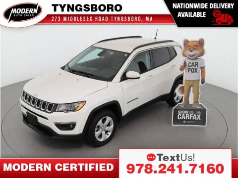 2018 Jeep Compass for sale at Modern Auto Sales in Tyngsboro MA