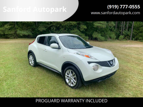 2012 Nissan JUKE for sale at Sanford Autopark in Sanford NC