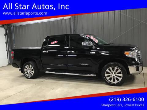 2015 Toyota Tundra for sale at All Star Autos, Inc in La Porte IN