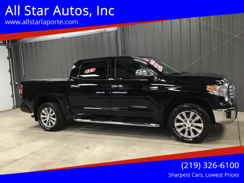 2015 Toyota Tundra for sale at All Star Autos, Inc in La Porte IN