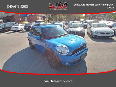 2012 MINI Cooper Countryman for sale at Complete Auto Center , Inc in Raleigh NC