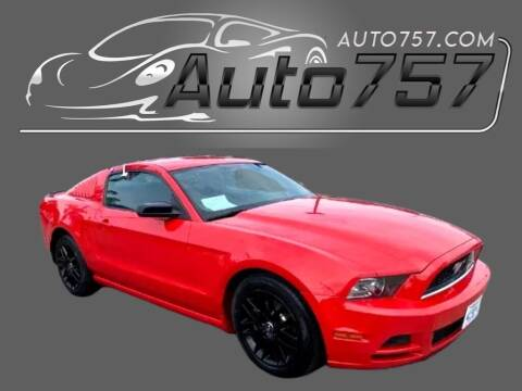 2014 Ford Mustang for sale at Auto 757 in Norfolk VA