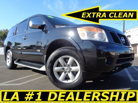 2009 Nissan Armada for sale at ALL STAR TRUCKS INC in Los Angeles CA