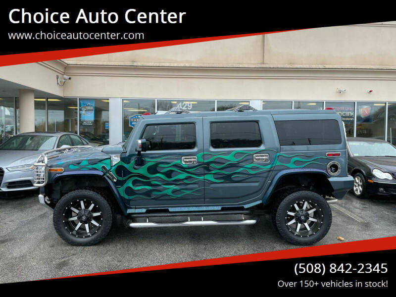2005 HUMMER H2 for sale at Choice Auto Center in Shrewsbury MA