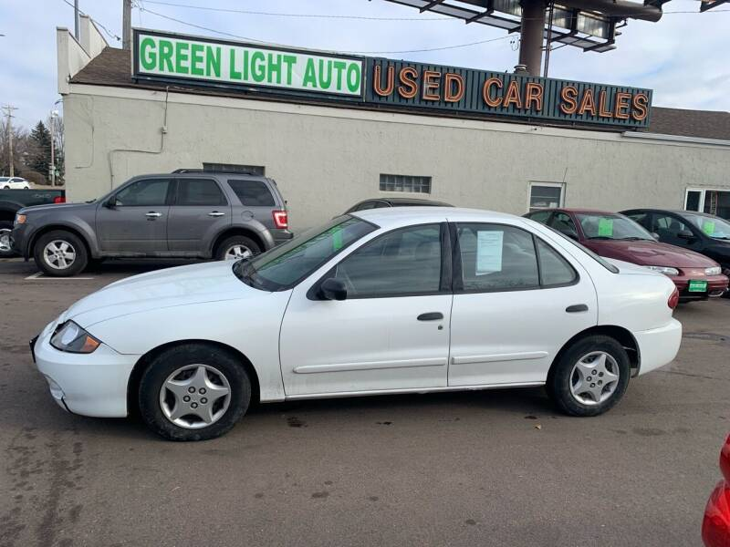 2003 Chevrolet Cavalier for sale at Green Light Auto in Sioux Falls SD