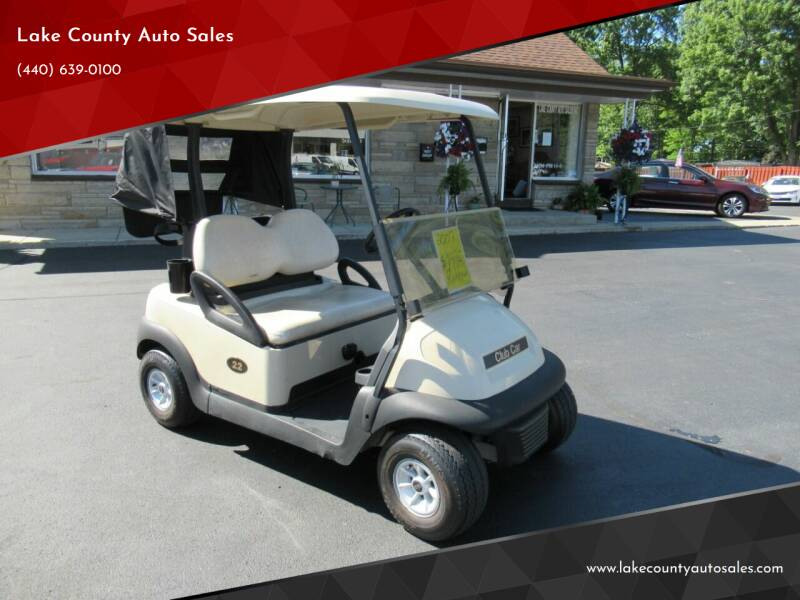 2007 Club Car PRECIDENT for sale at Lake County Auto Sales in Painesville OH