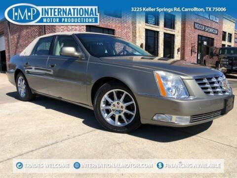 2011 Cadillac DTS for sale at International Motor Productions in Carrollton TX