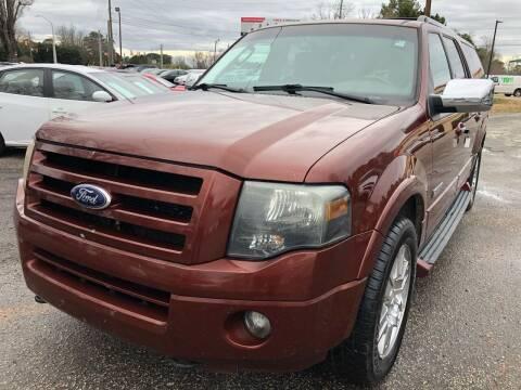 2007 Ford Expedition EL for sale at Atlantic Auto Sales in Garner NC