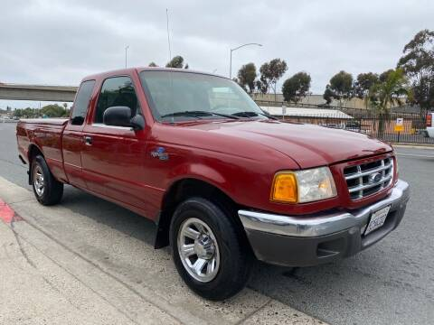 2001 Ford Ranger for sale at Beyer Enterprise in San Ysidro CA