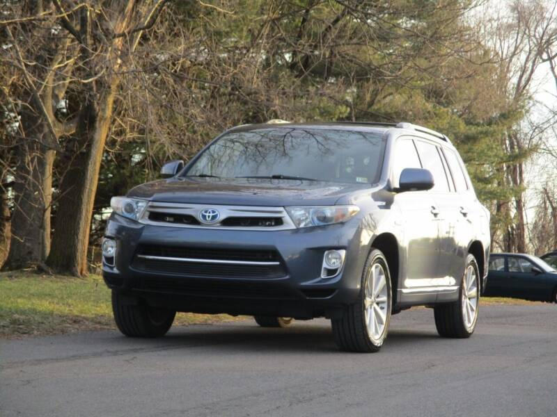 2012 Toyota Highlander Hybrid for sale at Loudoun Used Cars in Leesburg VA