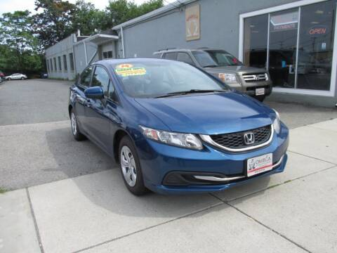 2014 Honda Civic for sale at Omega Auto & Truck CTR INC in Salem MA