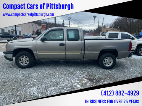 2003 Chevrolet Silverado 1500 for sale at Compact Cars of Pittsburgh in Pittsburgh PA
