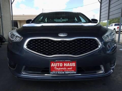 2014 Kia Cadenza for sale at Auto Haus Imports in Grand Prairie TX