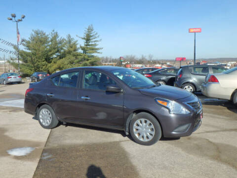 2015 Nissan Versa for sale at BLACKWELL MOTORS INC in Farmington MO