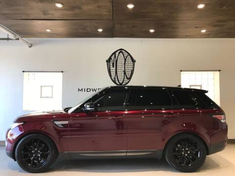 2015 Land Rover Range Rover Sport for sale at Midwest Car Connect in Villa Park IL