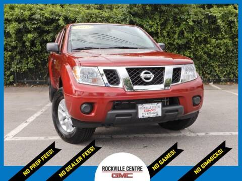 2019 Nissan Frontier for sale at Rockville Centre GMC in Rockville Centre NY