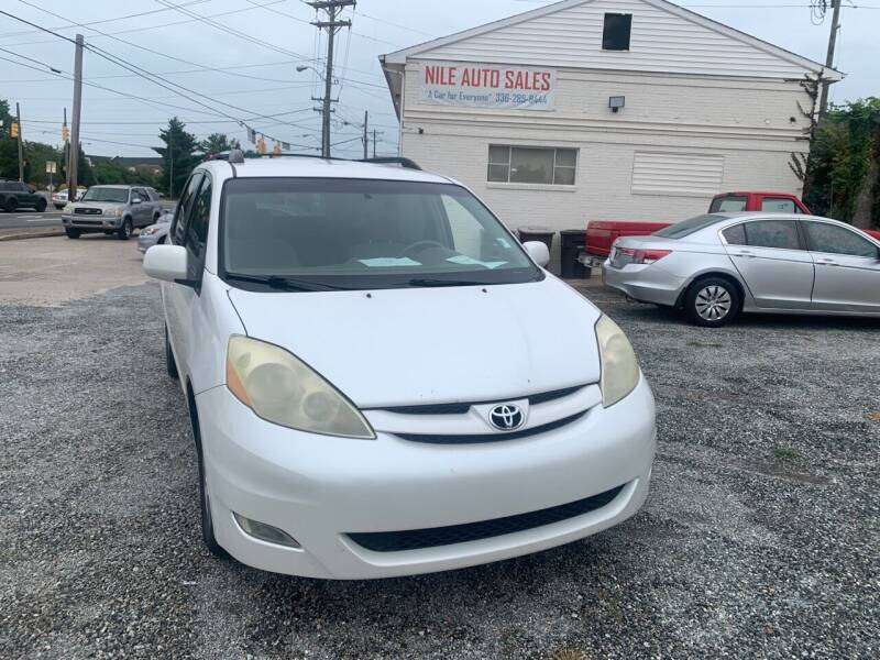 2006 Toyota Sienna for sale at Nile Auto Sales in Greensboro NC