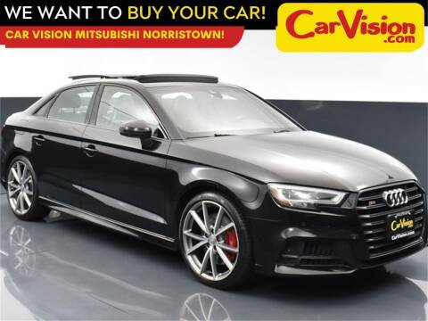 2018 Audi S3 for sale at Car Vision Mitsubishi Norristown in Trooper PA