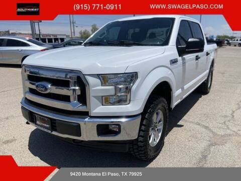 2017 Ford F-150 for sale at SOUTHWEST AUTO GROUP-EL PASO in El Paso TX
