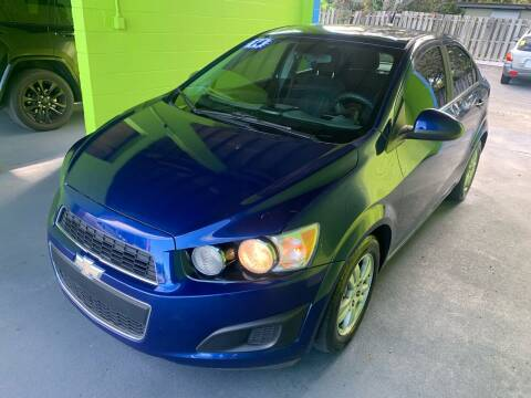 2013 Chevrolet Sonic for sale at Autos to Go of Florida in Daytona Beach FL