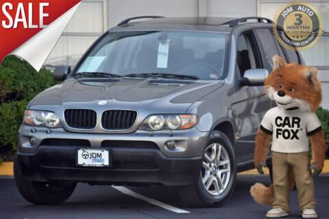 2004 BMW X5 for sale at JDM Auto in Fredericksburg VA