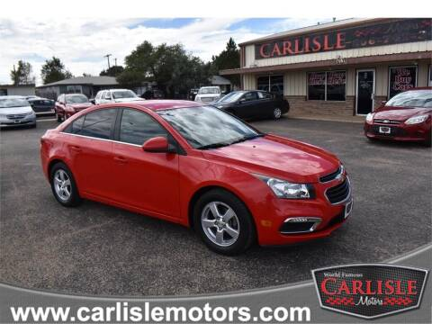 2016 Chevrolet Cruze Limited for sale at Carlisle Motors in Lubbock TX