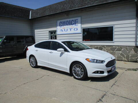 2015 Ford Fusion for sale at Choice Auto in Carroll IA