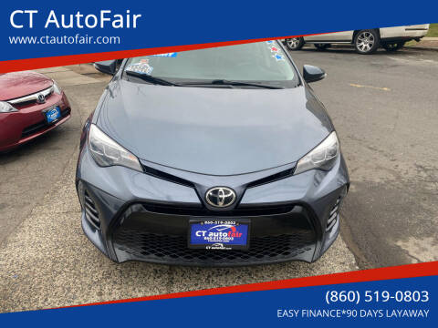 2017 Toyota Corolla for sale at CT AutoFair in West Hartford CT