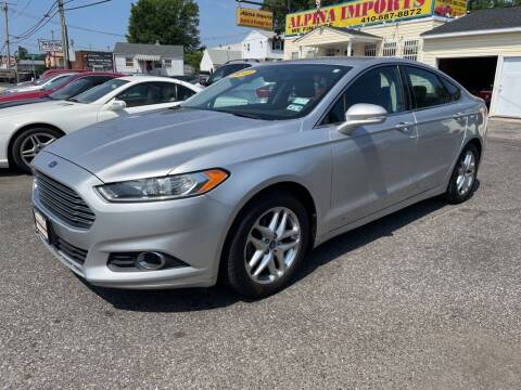 2013 Ford Fusion for sale at Alpina Imports in Essex MD