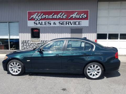 2006 BMW 3 Series for sale at Affordable Auto Sales & Service in Berkeley Springs WV