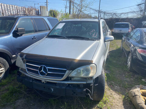 2003 Mercedes-Benz M-Class for sale at Cartel Auto Parts in Philadelphia PA