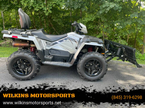 2018 Polaris Sportsman 570 SP Touring EPS for sale at WILKINS MOTORSPORTS in Brewster NY
