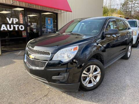 2012 Chevrolet Equinox for sale at VP Auto in Greenville SC