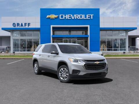 2021 Chevrolet Traverse for sale at GRAFF CHEVROLET BAY CITY in Bay City MI