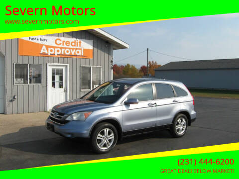 2010 Honda CR-V for sale at Severn Motors in Cadillac MI