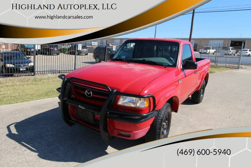 2003 Mazda Truck for sale at Highland Autoplex, LLC in Dallas TX