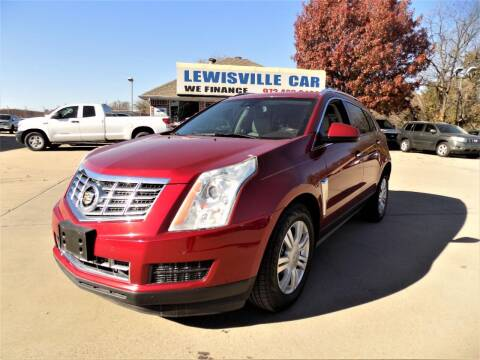 2014 Cadillac SRX for sale at Lewisville Car in Lewisville TX