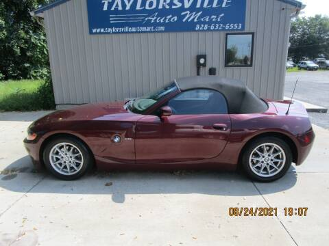 2003 BMW Z4 for sale at Taylorsville Auto Mart in Taylorsville NC