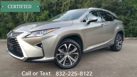 2017 Lexus RX 350 for sale at Houston Auto Preowned in Houston TX