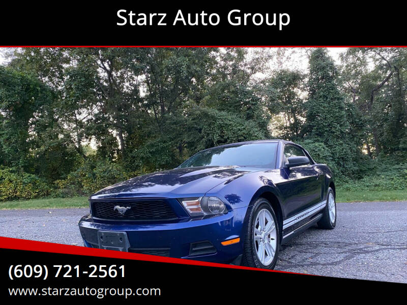 2010 Ford Mustang for sale at Starz Auto Group in Delran NJ